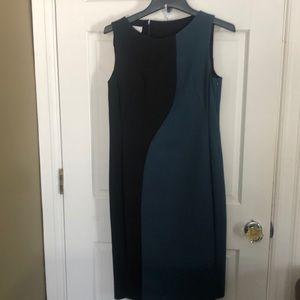Akris Punto techno cotton dress.
